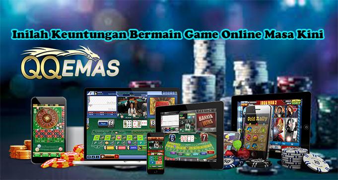 Inilah Keuntungan Bermain Game Online Masa Kini