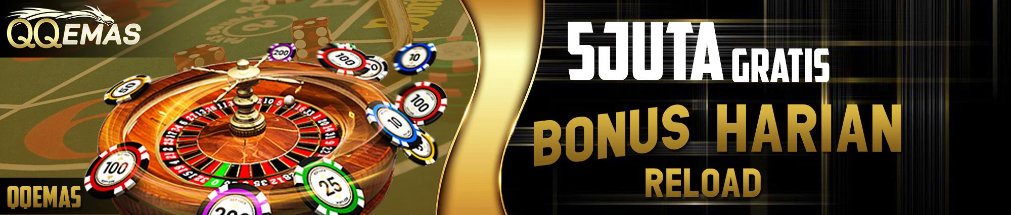 bonus casino online resmi terbesar